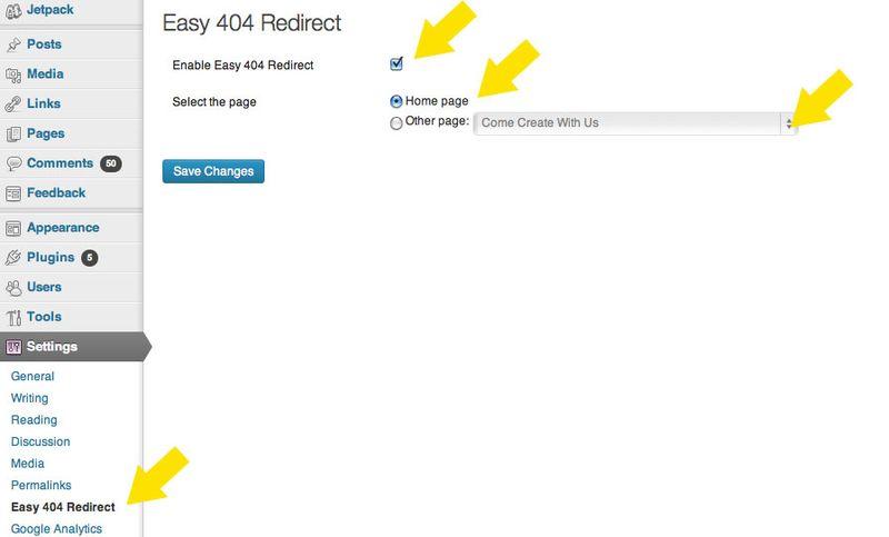 404EasyRedirect